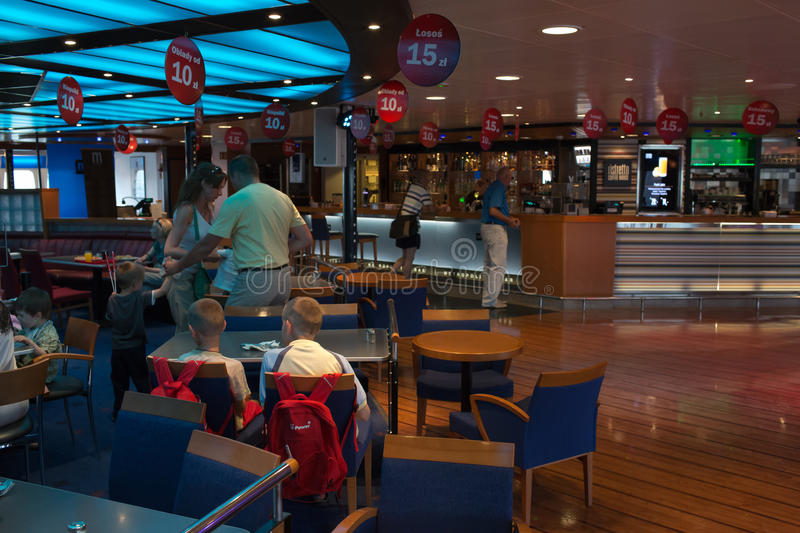 Download Open Day On The Ferry Stena Spirit. Editorial Stock Photo - Image: 33514033