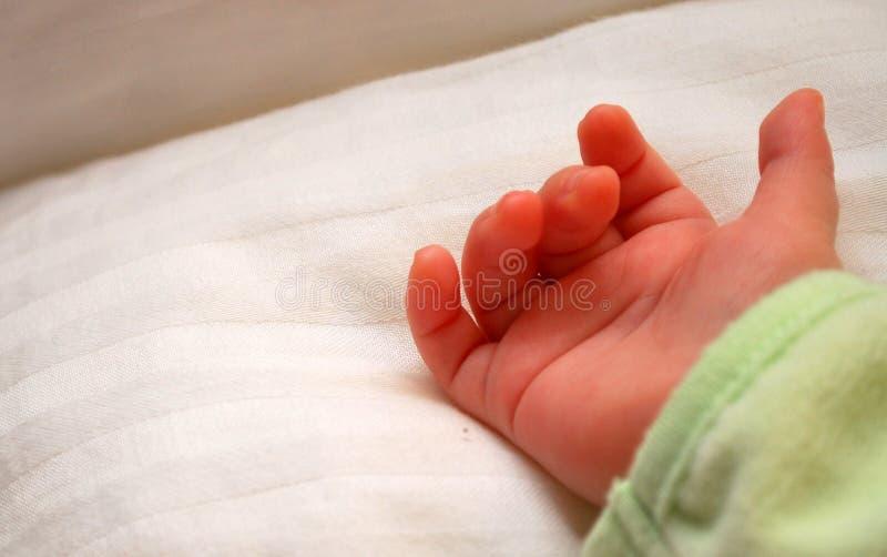 Open de babys overhandigen royalty-vrije stock afbeelding