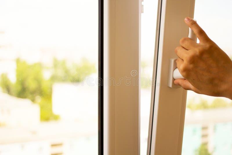 Open de vensters stock fotografie