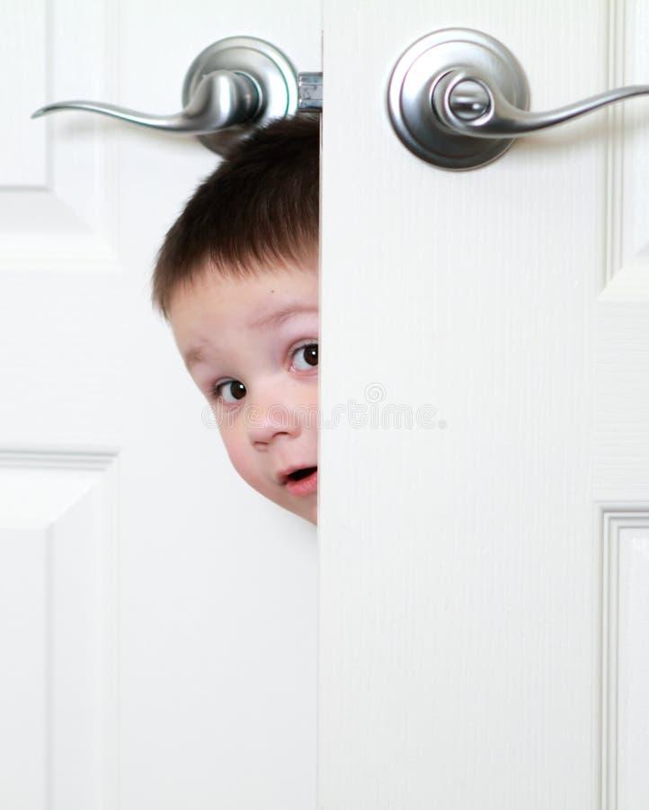 Open deur stock foto afbeelding bestaande uit zoon baby 18013524 - Ruimte jongensbaby ...