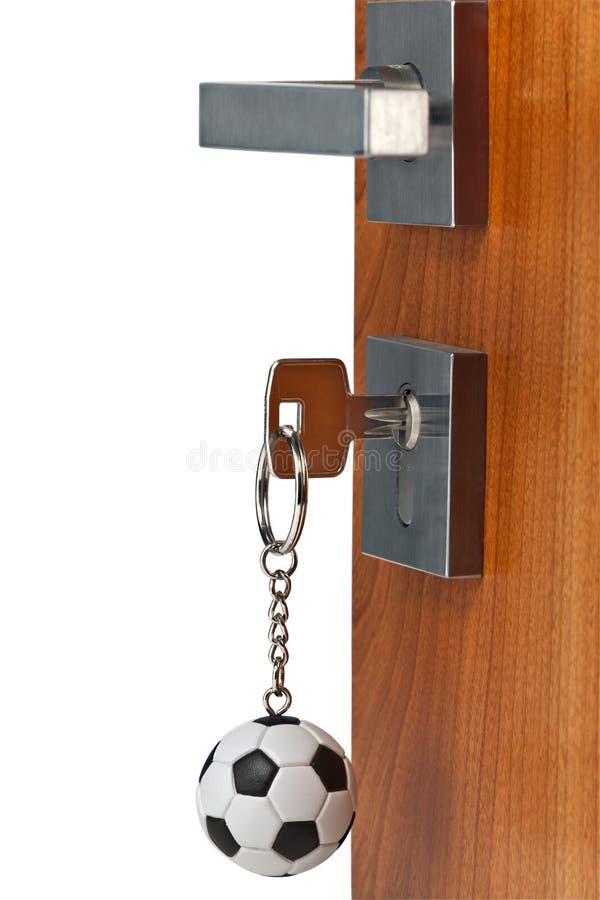Open deur royalty-vrije stock afbeeldingen