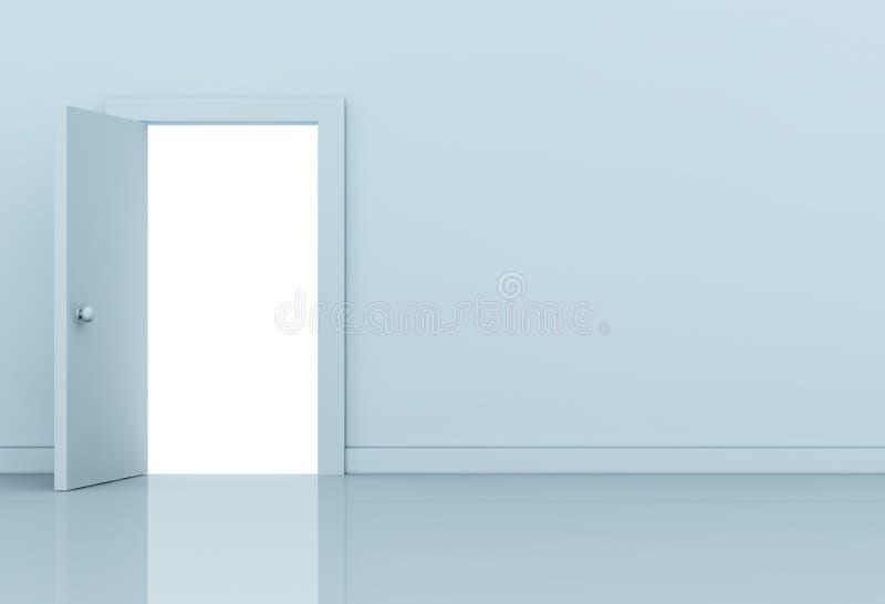 Open deur royalty-vrije illustratie