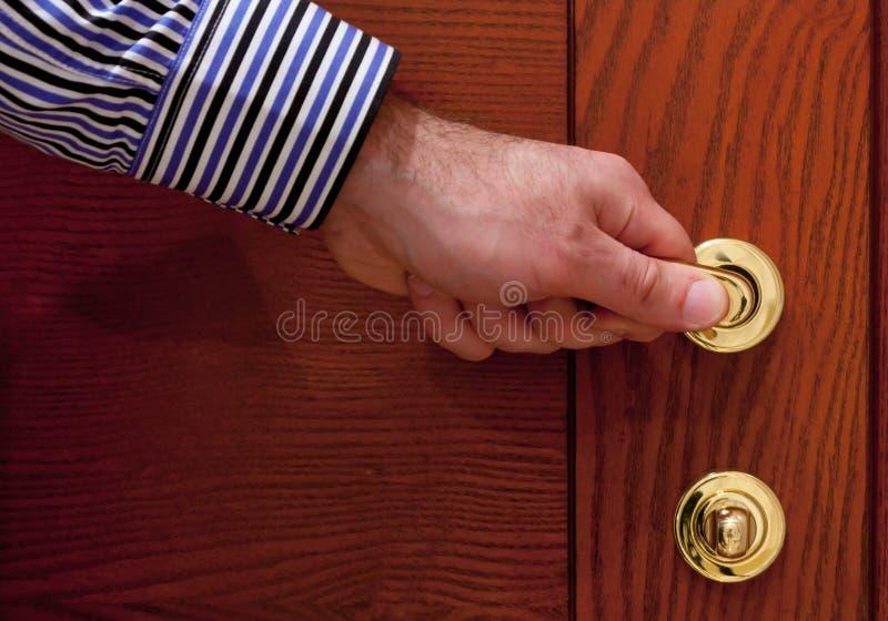 Download Open the door. stock image. Image of open, entrance, interior - 18481059