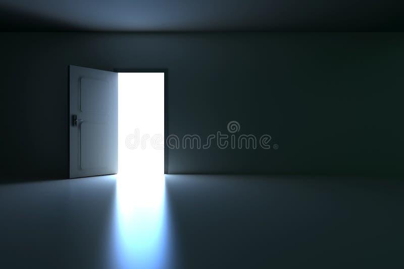 Open Door stock illustration