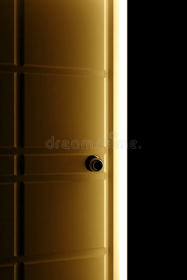 Download Open door stock illustration. Image of objective, room - 2795121