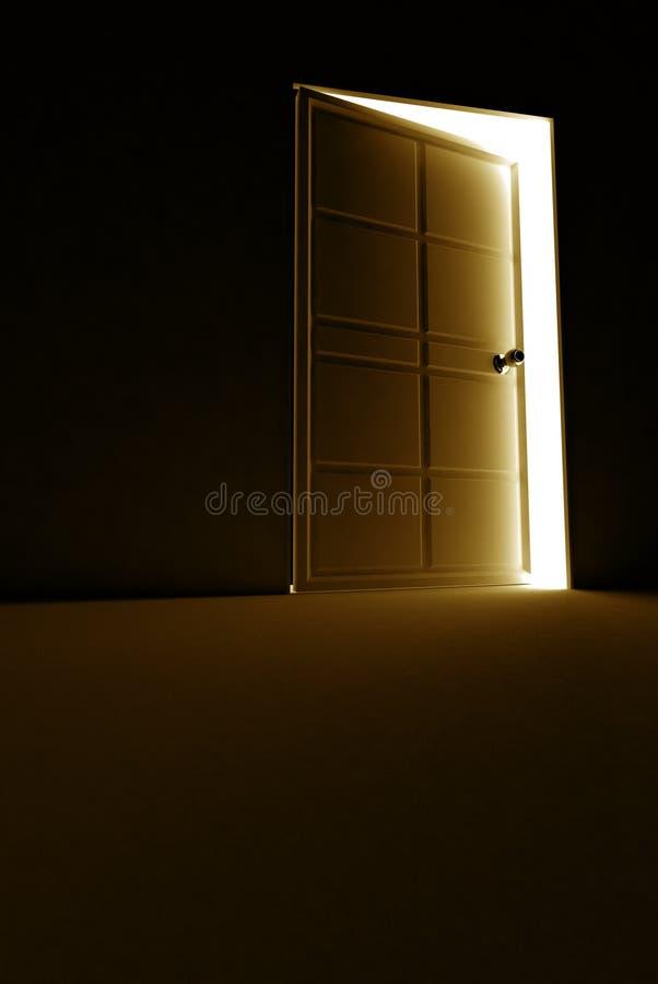 Download Open door stock illustration. Image of motive, door, wood - 2796186