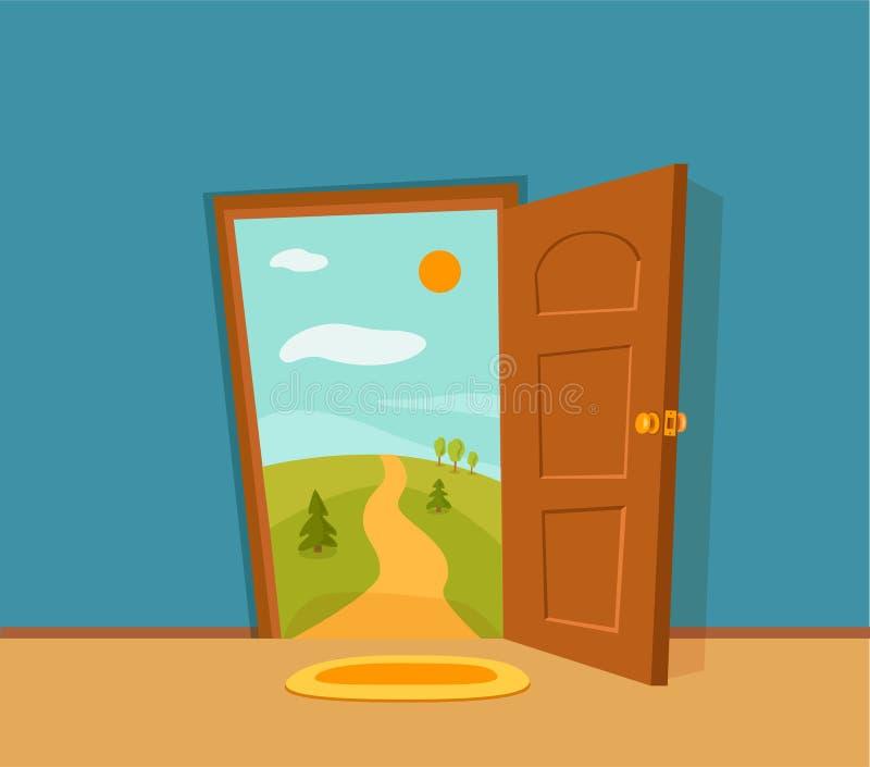 Open Door Cartoon Stock Illustrations – 5,954 Open Door Cartoon ...