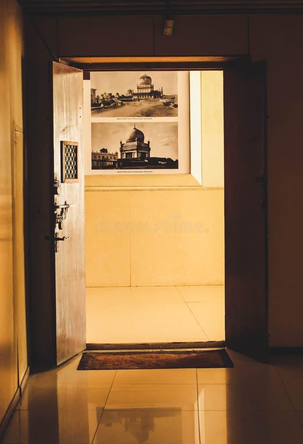 Open Door History Gallery stock image