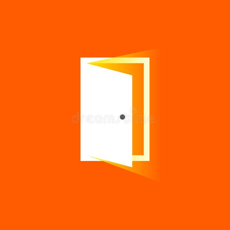 Download Open Door Icon In Trendy Flat Style. Symbol For Website Design Stock Vector  sc 1 st  Dreamstime.com & Open Door Icon In Trendy Flat Style. Symbol For Website Design ...