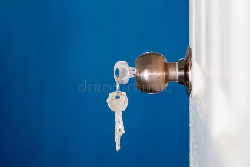 Download Open Door With Keys Key In Keyhole Stock Photo - Image 59381650 & Open Door With Keys Key In Keyhole Stock Photo - Image: 59381650 pezcame.com