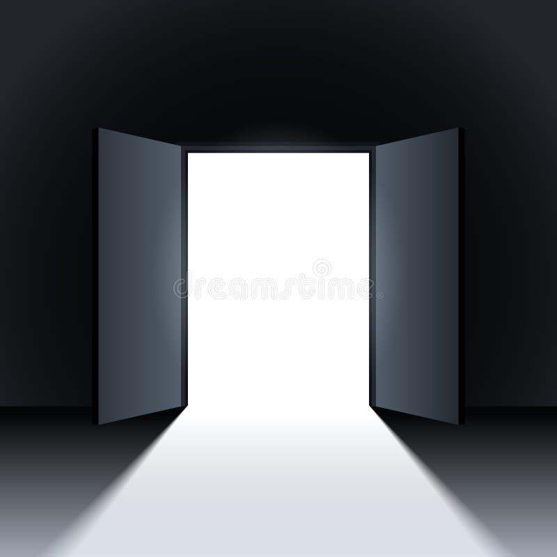 Open Door. Stock Vector. Illustration Of Empty, Door