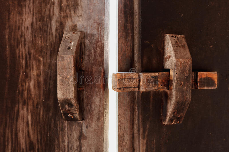 Open the door to success.  royalty free stock photography