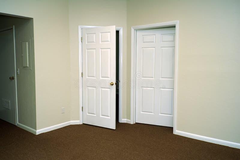 Download Open doors stock image. Image of wood, brass, knobs, opening - 17320781