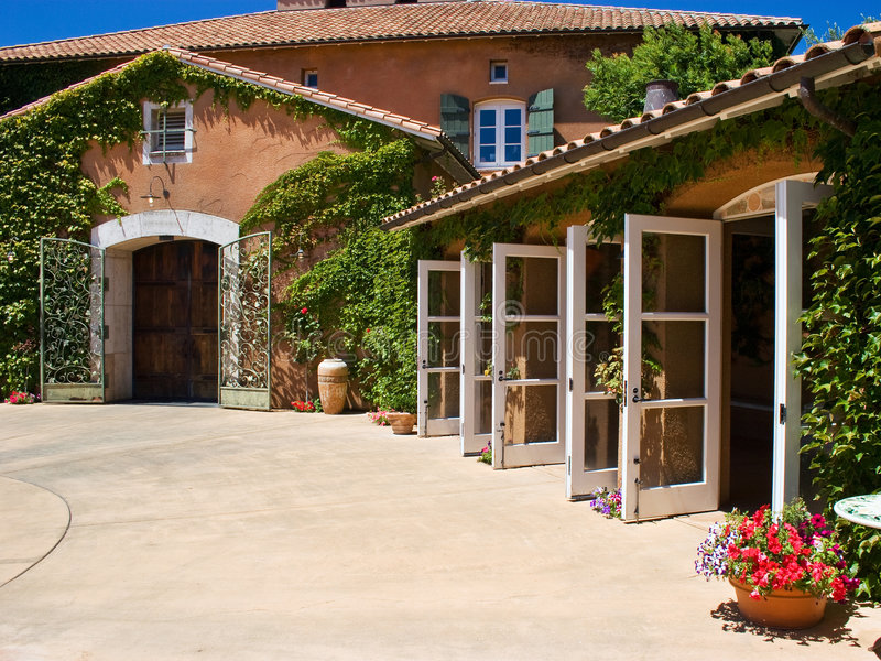 Open Doors royalty free stock image