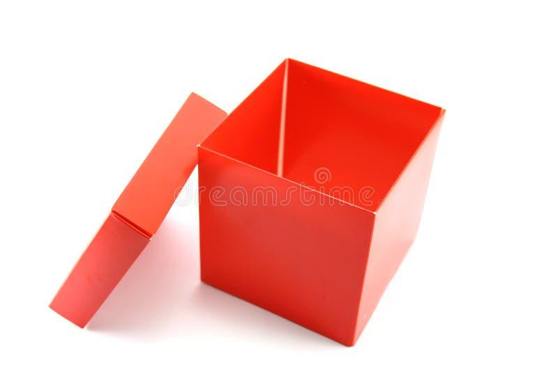 Open doos stock foto