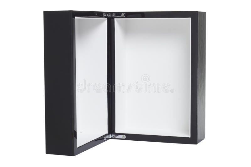 Download Open empty black box stock photo. Image of container - 21218936