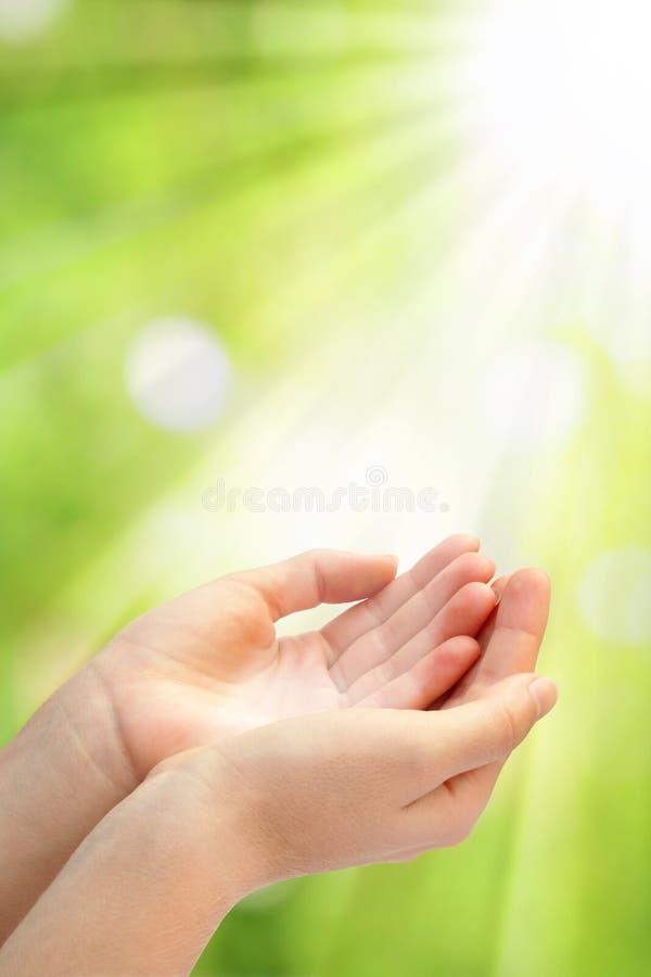 Open Empty Hands Stock Images