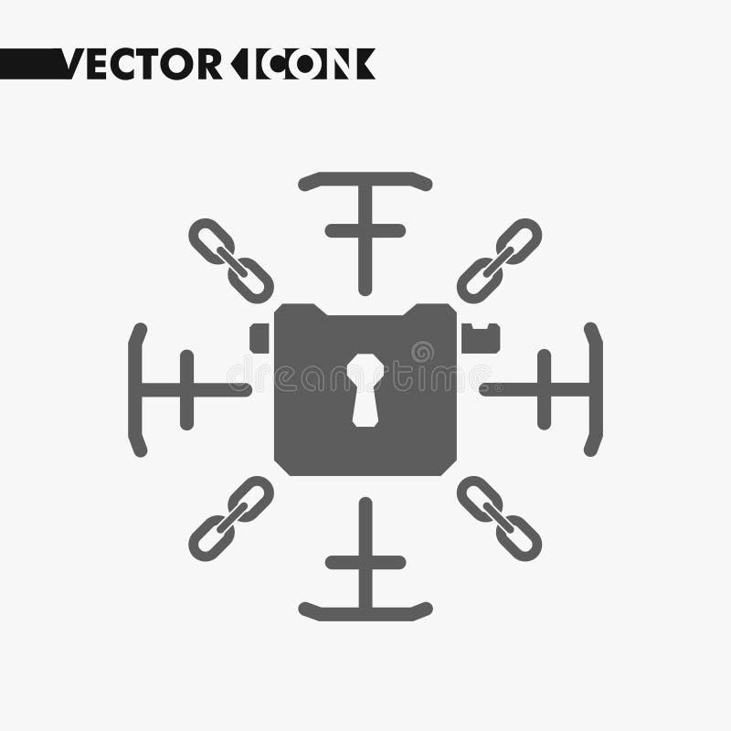 Open en dichte slotknopen en pictogrammen Het symbool van het veiligheidsslot voor uw websiteontwerp, slotembleem, app vector illustratie