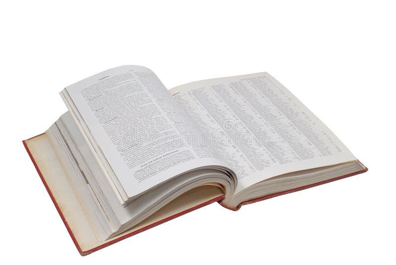 Open encyclopedia royalty free stock photography