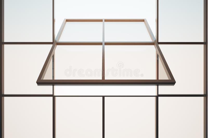 Open enmarcó la ventana libre illustration