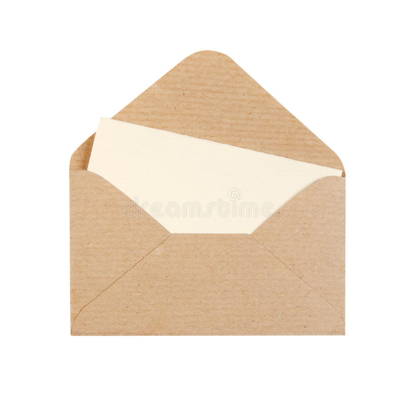 Download Open envelope stock image. Image of business, letter - 11858361