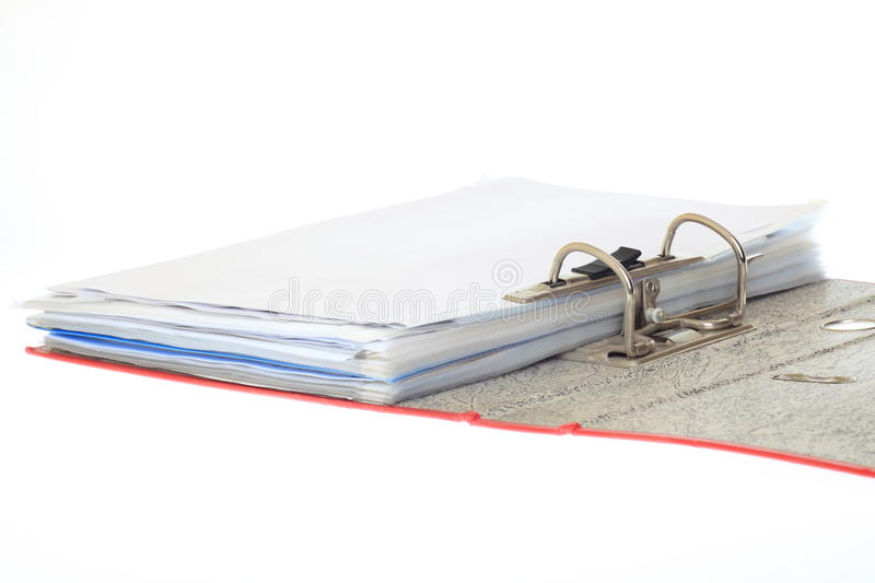 Download Open file folder stock photo. Image of report, archive - 18461706