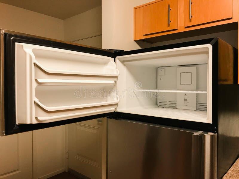 Empty Freezer Of Refrigerator Stock Image Image Of Cool