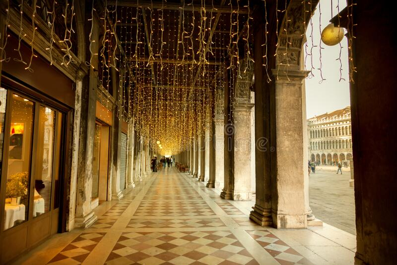 Open galerie in Venetië royalty-vrije stock foto's