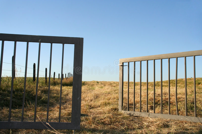 Download Open Gate Royalty Free Stock Photos - Image: 150308