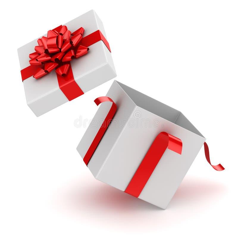 Open Gift Box stock illustration