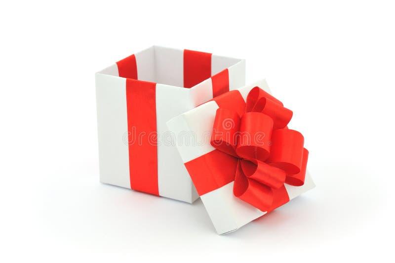 Open giftdoos royalty-vrije stock foto