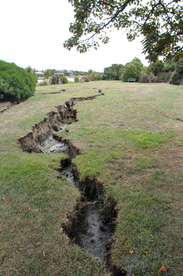 Download Open ground editorial stock image. Image of fault, opened - 18545429