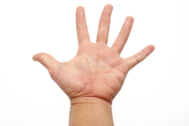 Open hand stock photography