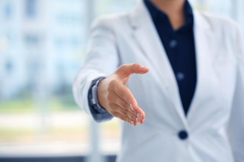 Download Open hand stock photo. Image of female, businesswoman - 26515832
