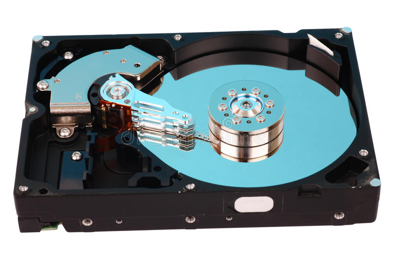 Download Open Hard Disk Drive Stock Photos - Image: 12290883