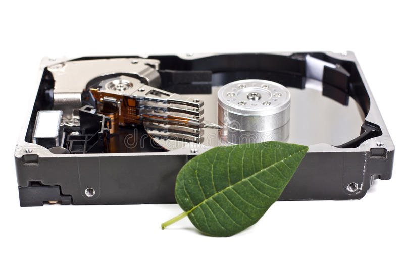 Download Open hard drive stock photo. Image of information, security - 23759948