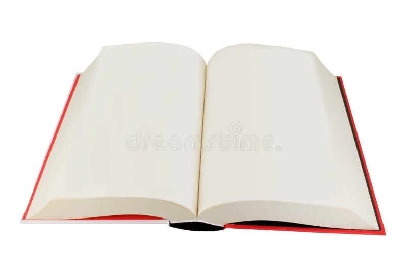 Open hardback book royalty free stock image