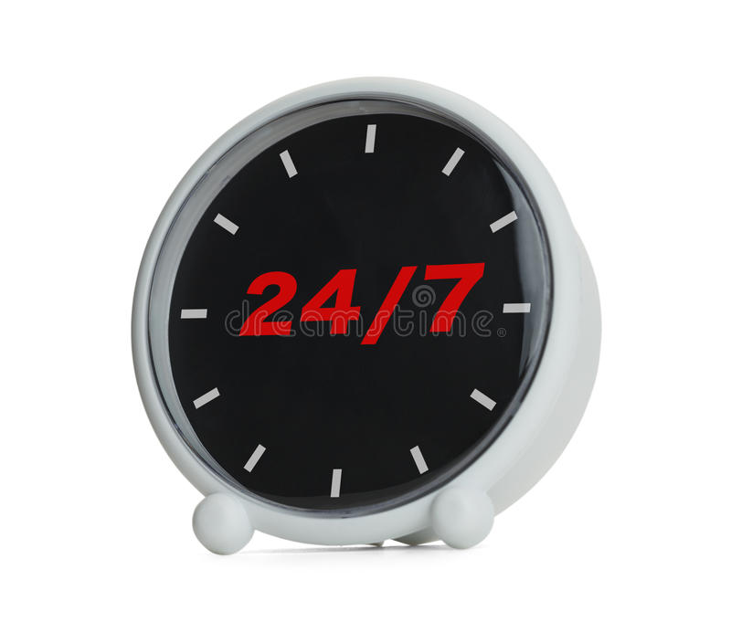 Open 24 Hours royalty free stock photo