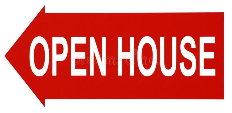 Open House. A realtor's Open House sign stock photos