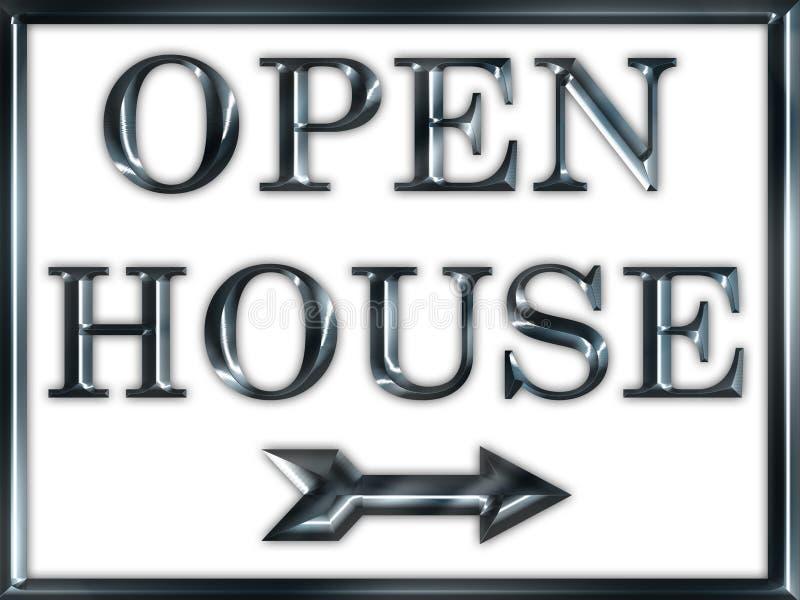 Open House Real Estate Sign stock photos