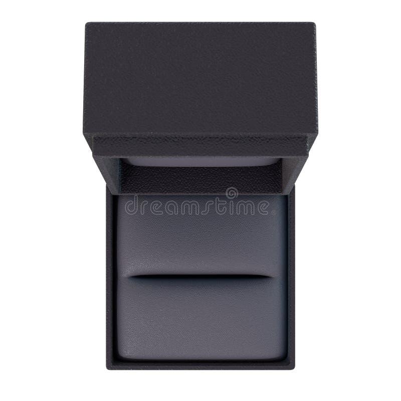 Open Leeg Ring Box Isolated royalty-vrije illustratie