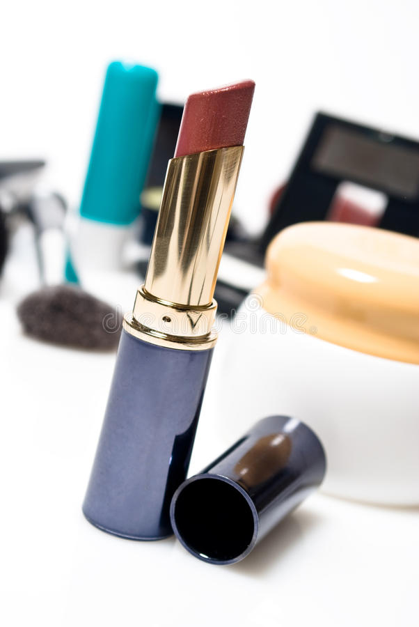 Download Open lip stick stock photo. Image of beautiful, isolate - 11904680