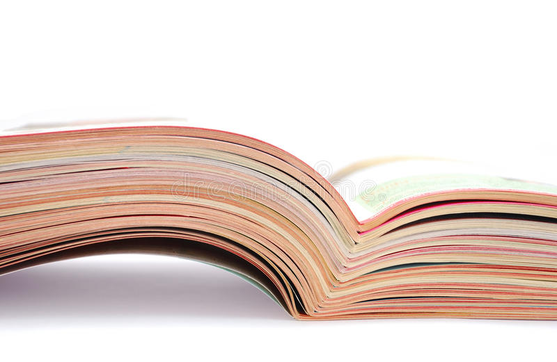 Download Open magazines stock image. Image of publish, journal - 12652799