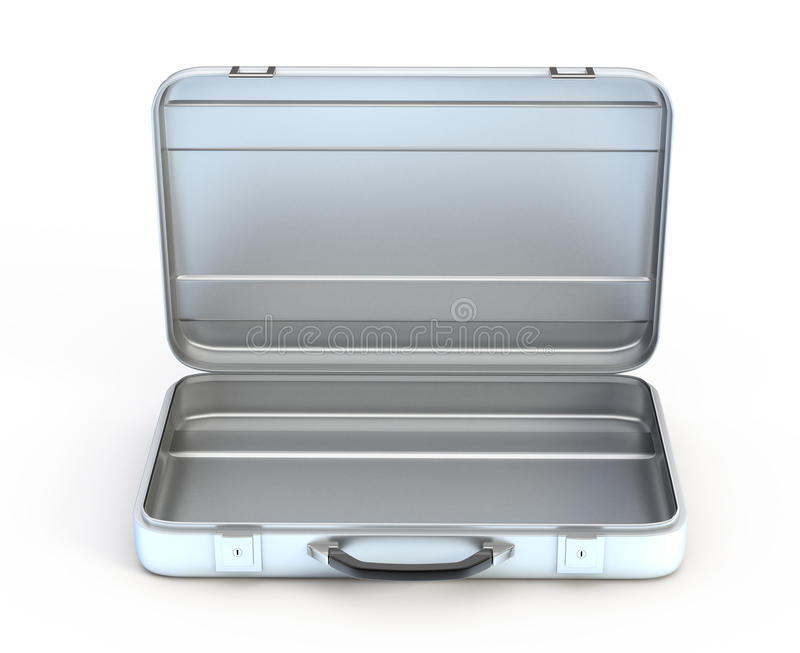 Download Open metal case stock illustration. Image of storage - 11709196