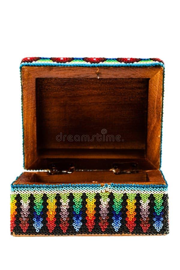 Open Mexicaanse doos royalty-vrije stock afbeelding