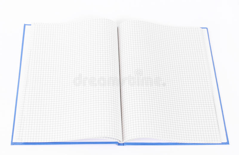 Download Open notebook stock image. Image of object, sheets, notebook - 20553381