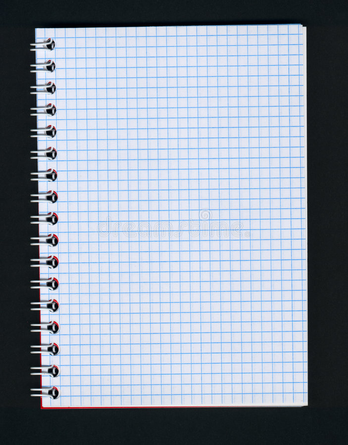 Download Open notebook stock image. Image of notebook, ready, sketch - 237883