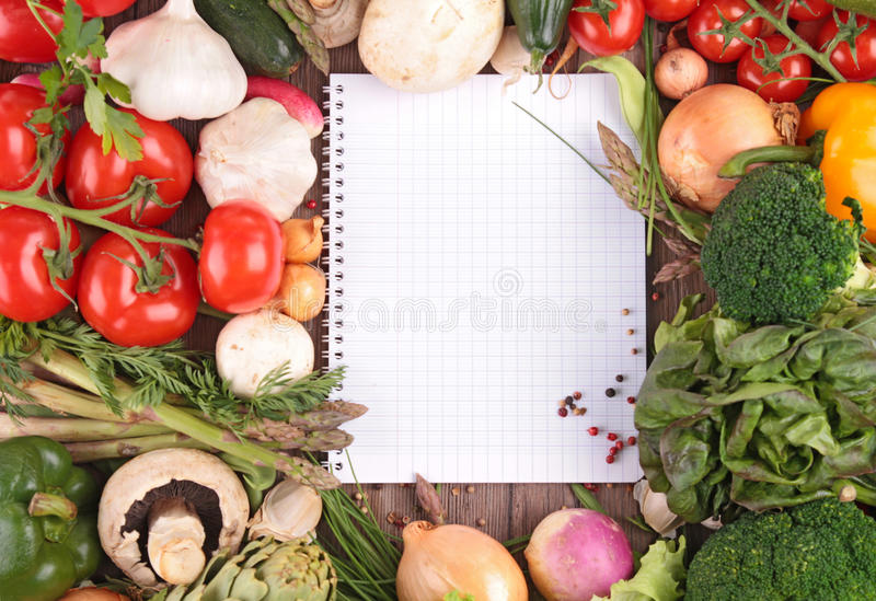 Raw vegetables stock photos