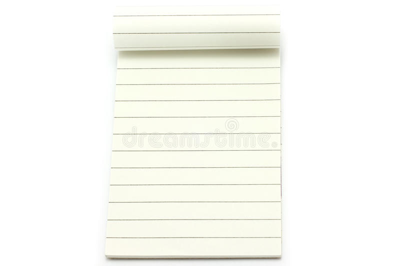 Open notepad stock images