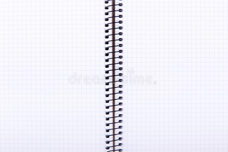 Open notepad close-up stock images